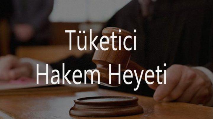 Tüketici Hakem Heyeti Başvuru Formu