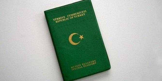 Yeşil Pasaport Başvuru Formu