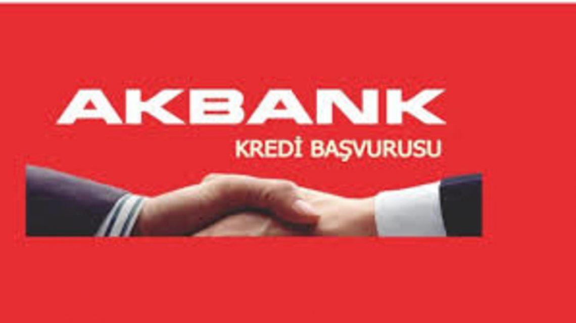 Akbank Kredi Başvuru Formu