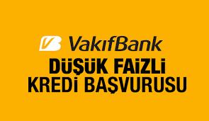 Vakıfbank Kredi Başvurusu Formu